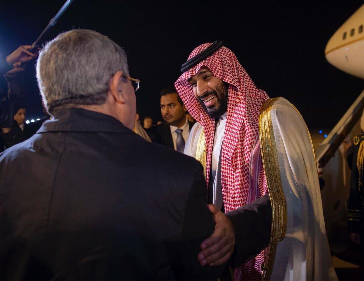 Saudi Crown Prince Mohammed bin Salman arrives in Algeria