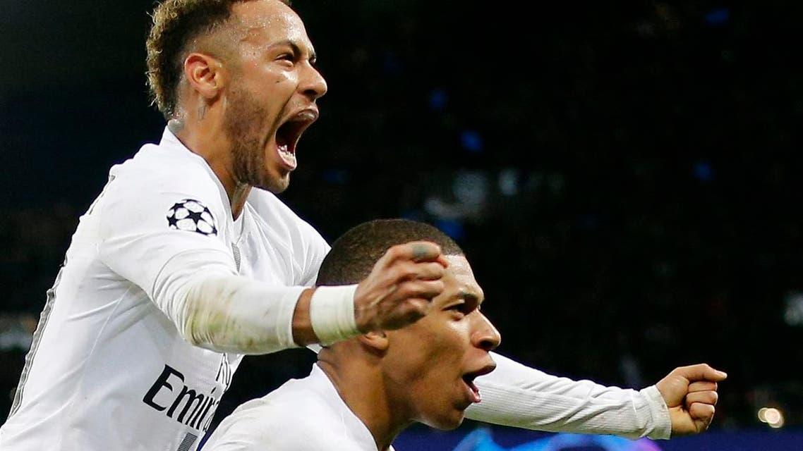 Neymar Mbappe. (AP)