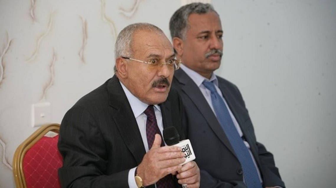 علي عبدالله صالح و عارف الزوكا