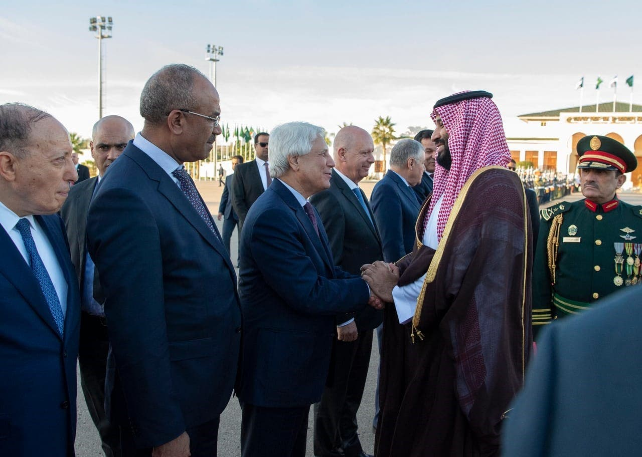 Saudi crown prince departs Algeria after two-day official visit