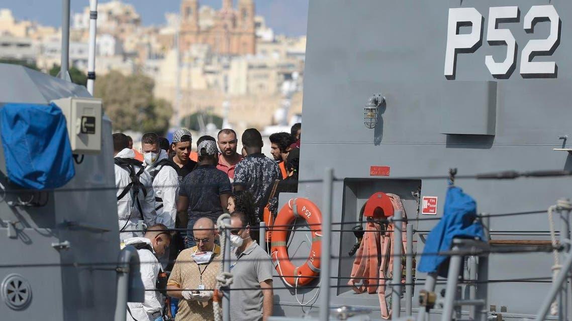 Malta migrants rescue. (AFP)