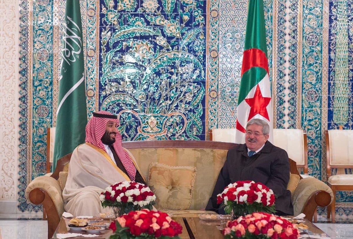 Saudi Crown Prince Mohammed bin Salman arrives in Algeria new main?