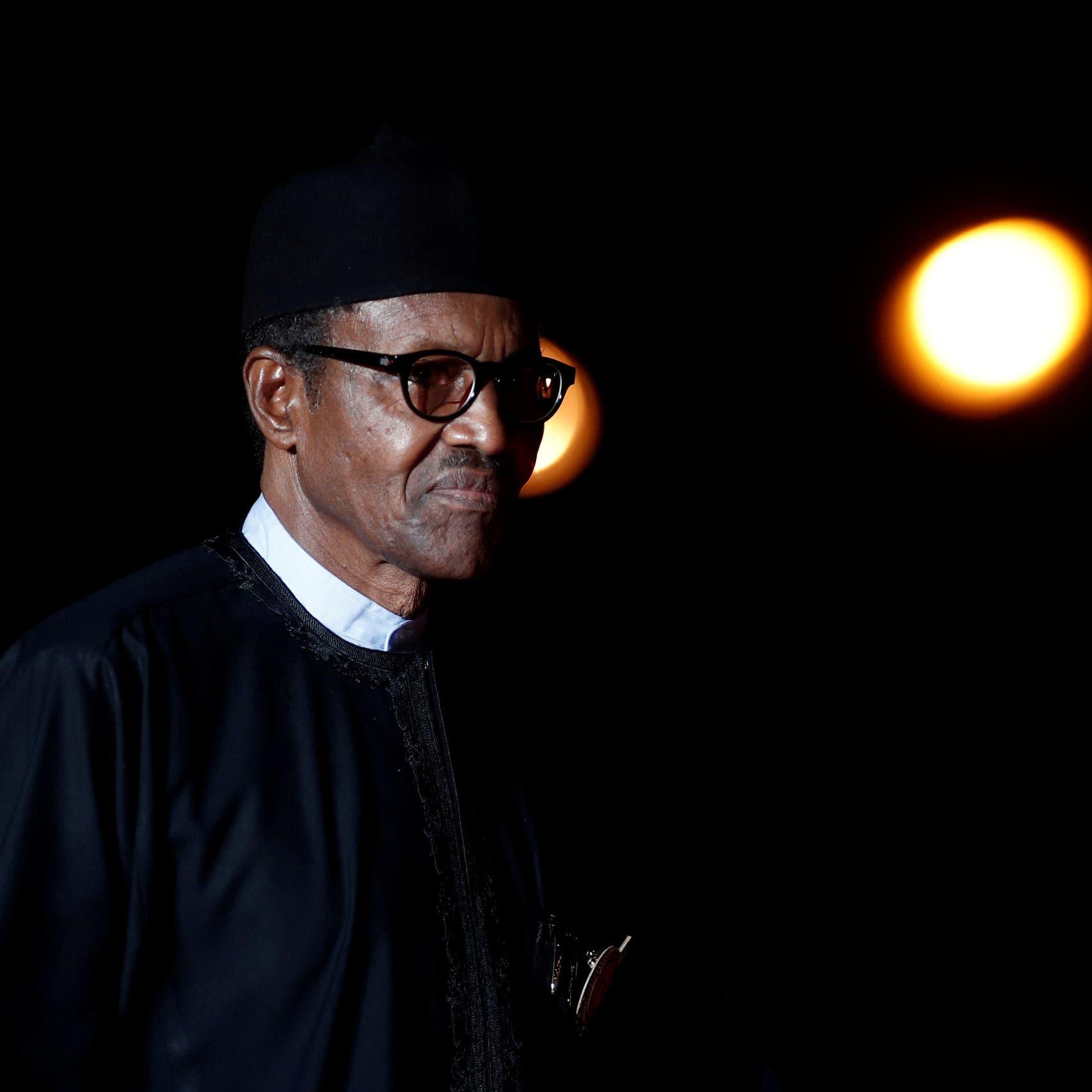 رئيس نيجيريا يرد على مزاعم