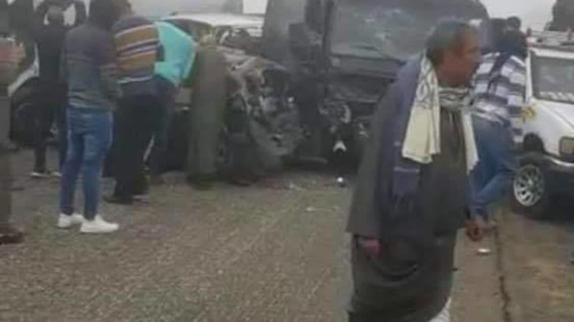 حادث سير مصر