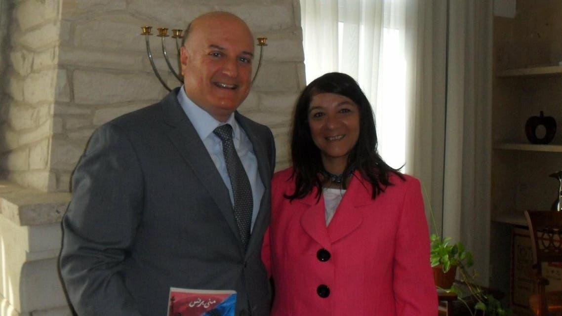 Fired Egyptian professor faces new backlash over Israeli ambassador photo