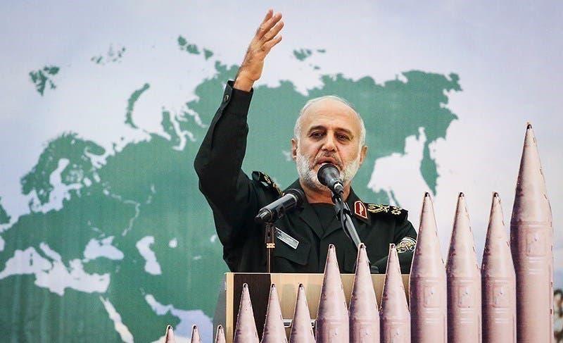 اللواء غلام علي رشيد قائد مقر خاتم الأنبياء المركزي