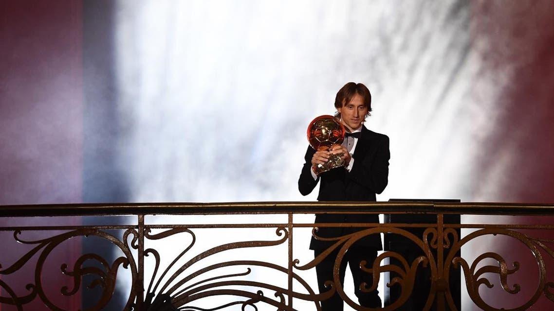 Modric Ballon D'or. (AFP)