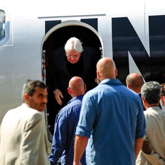 غريفيثس يغادر صنعاء.. ويقدم إفادته أمام مجلس الأمن