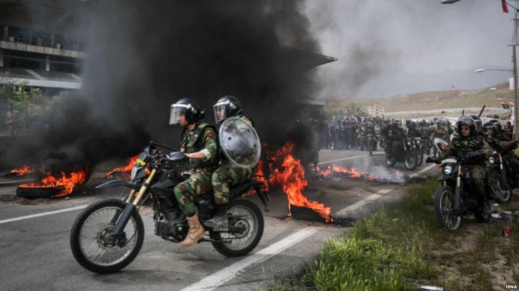 احتجاجات نهاية 2017 وبداية 2018