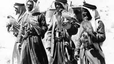 صور نادرة من مكتبة الملك عبدالعزيز بمعرض الصقر السعودي