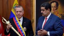 Turkey's Erdogan offers support for Venezuela's Maduro