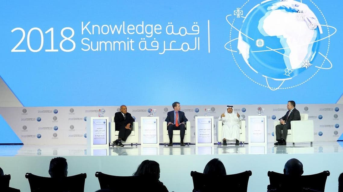 The winners of the Mohammed Bin Rashid Al Maktoum Knowledge Award was announced during the inaugural session of the 2018 Knowledge Summit. (Supplied)