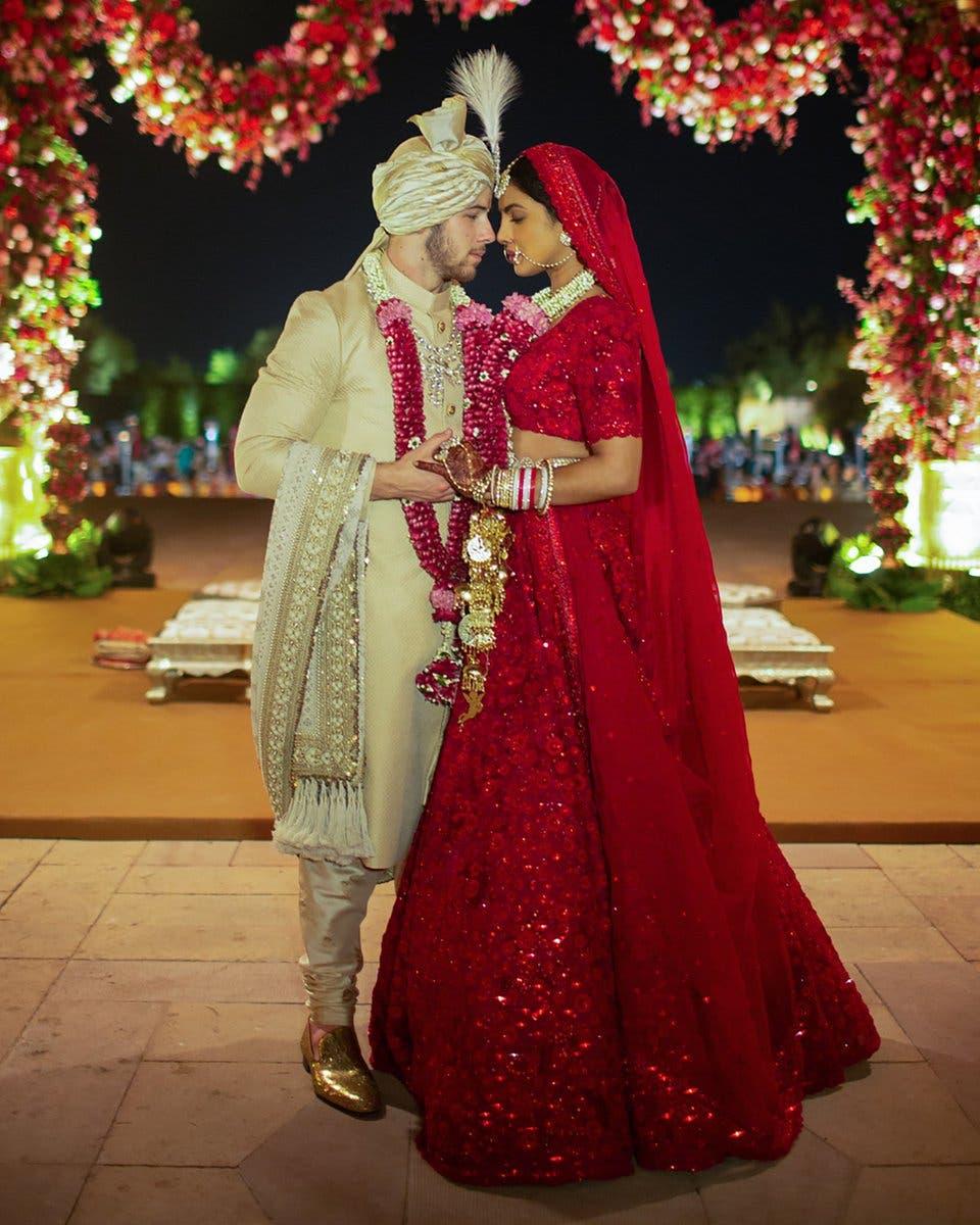حفل الزفاف الهندي التقليدي