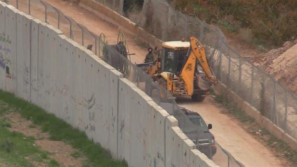 مشهد من تدمير ما قالت إسرائيل إنها أنفاق حفرها حزب الله من جنوب لبنان باتجاه الداخل الإٍسرائيلي