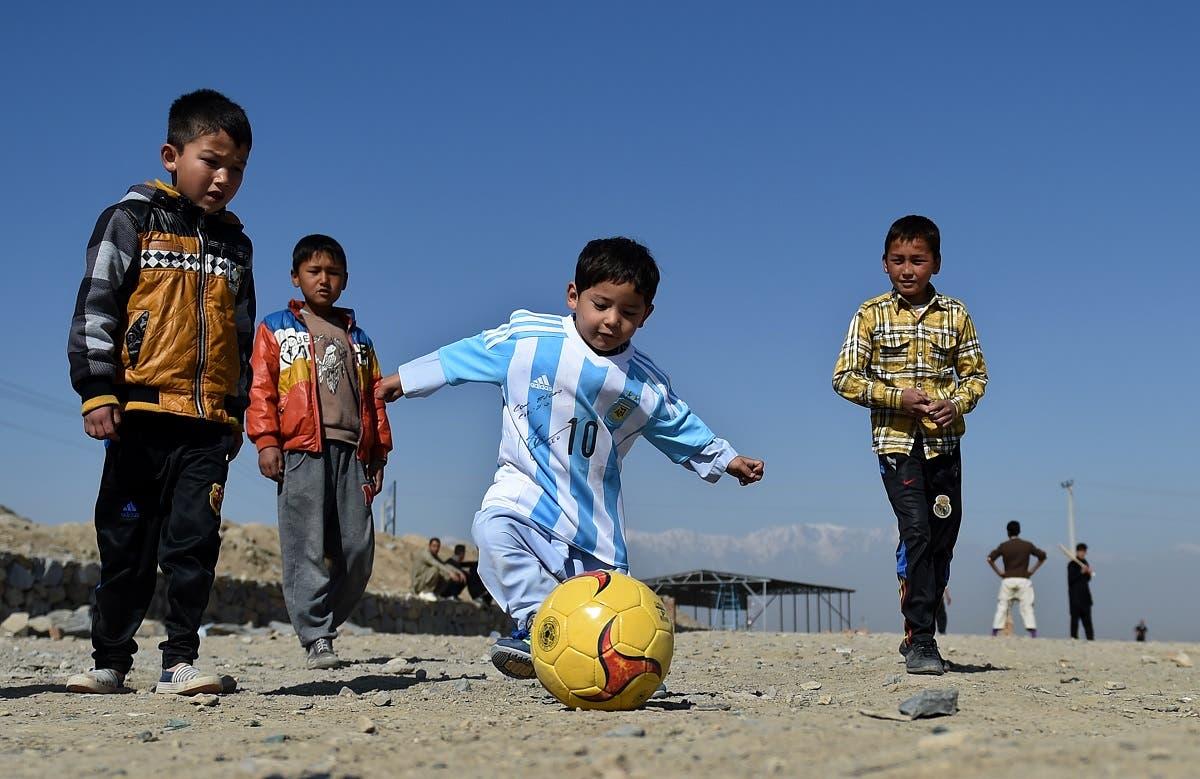 Afghani Messi (AFP)