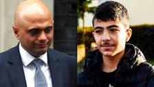 وزير داخلية بريطانيا: عانيت من التنمر مثل الطفل السوري جمال