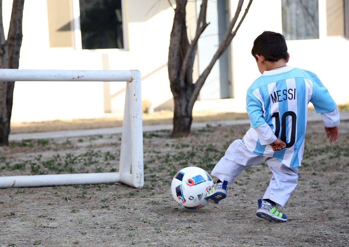 Afghani Murtaza Messi (AFP)