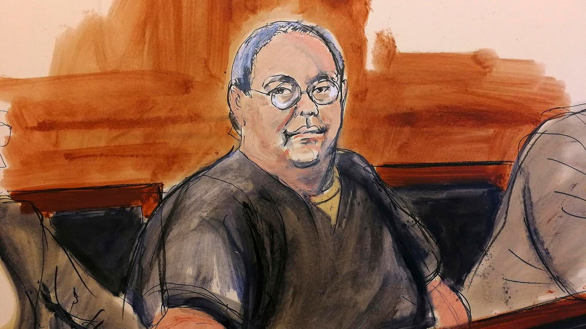In this Feb. 5, 2018 courtroom sketch, Patrick Ho attends his bail hearing in New York. (AP)