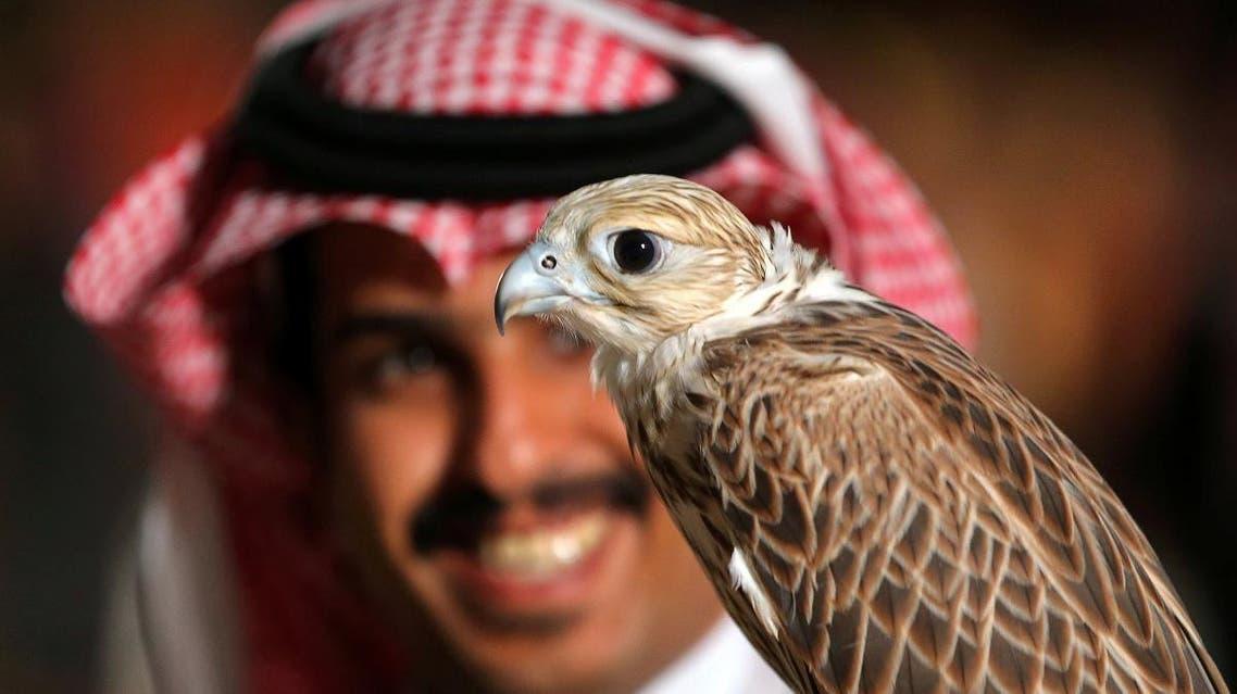 Riyadh Saudi Arabia falconry. (Reuters)