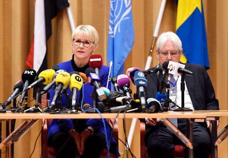 griffiths sweden peace talks