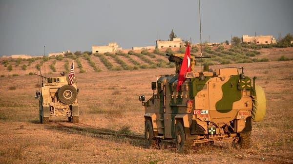 دورية مشتركة بين أميركا وتركيا في منبج (أرشيفية)
