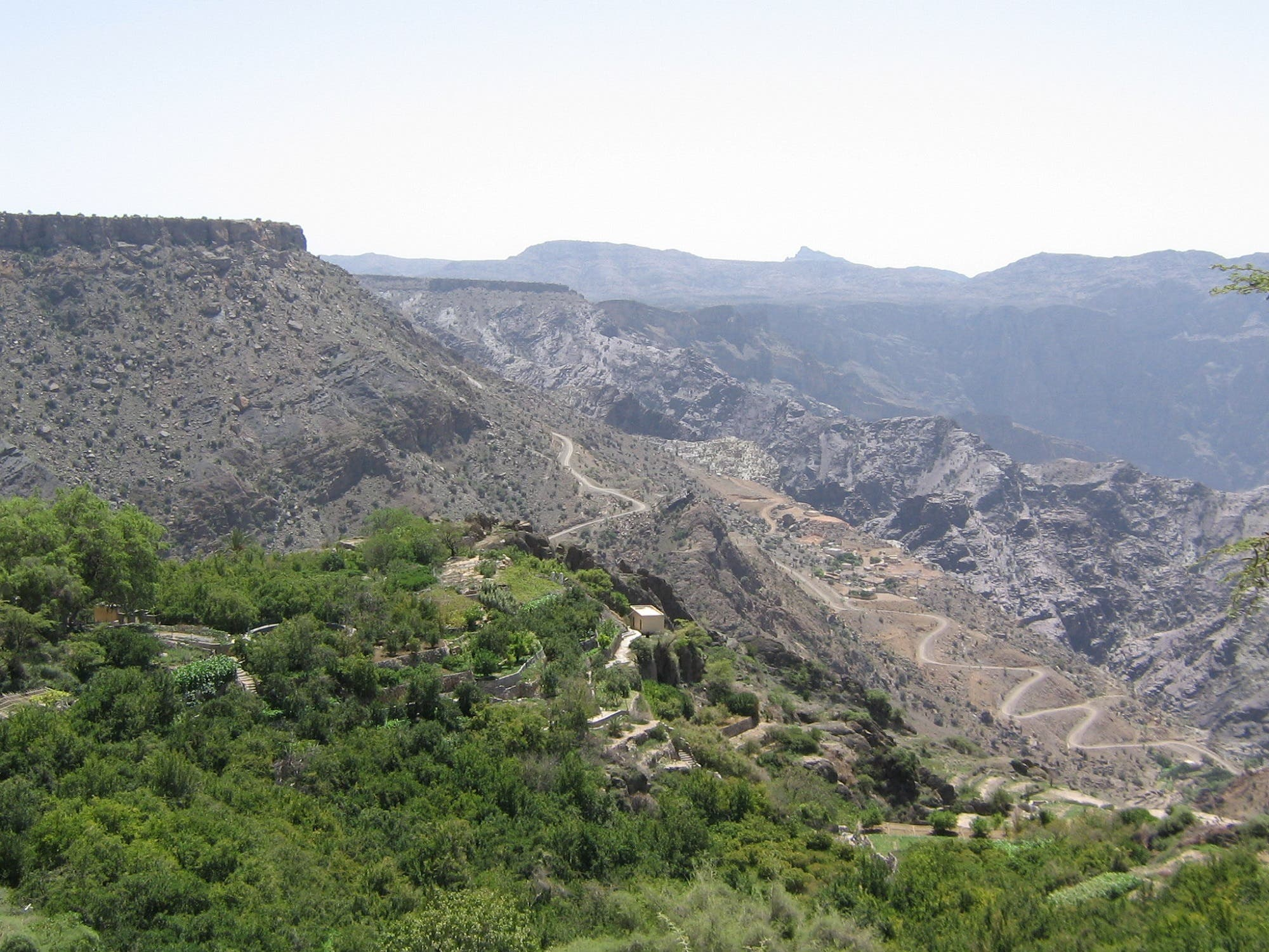 Saiq, which is Jabal al-Akhdar's main town is famous for its terraced rose gardens. (Supplied)