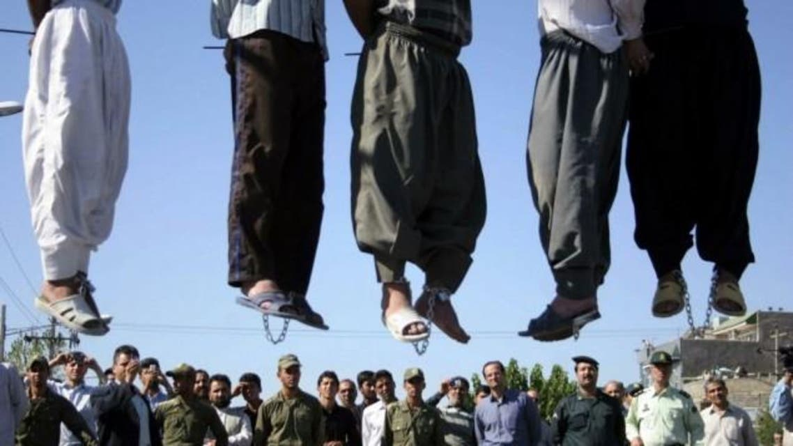 iran executions supplied