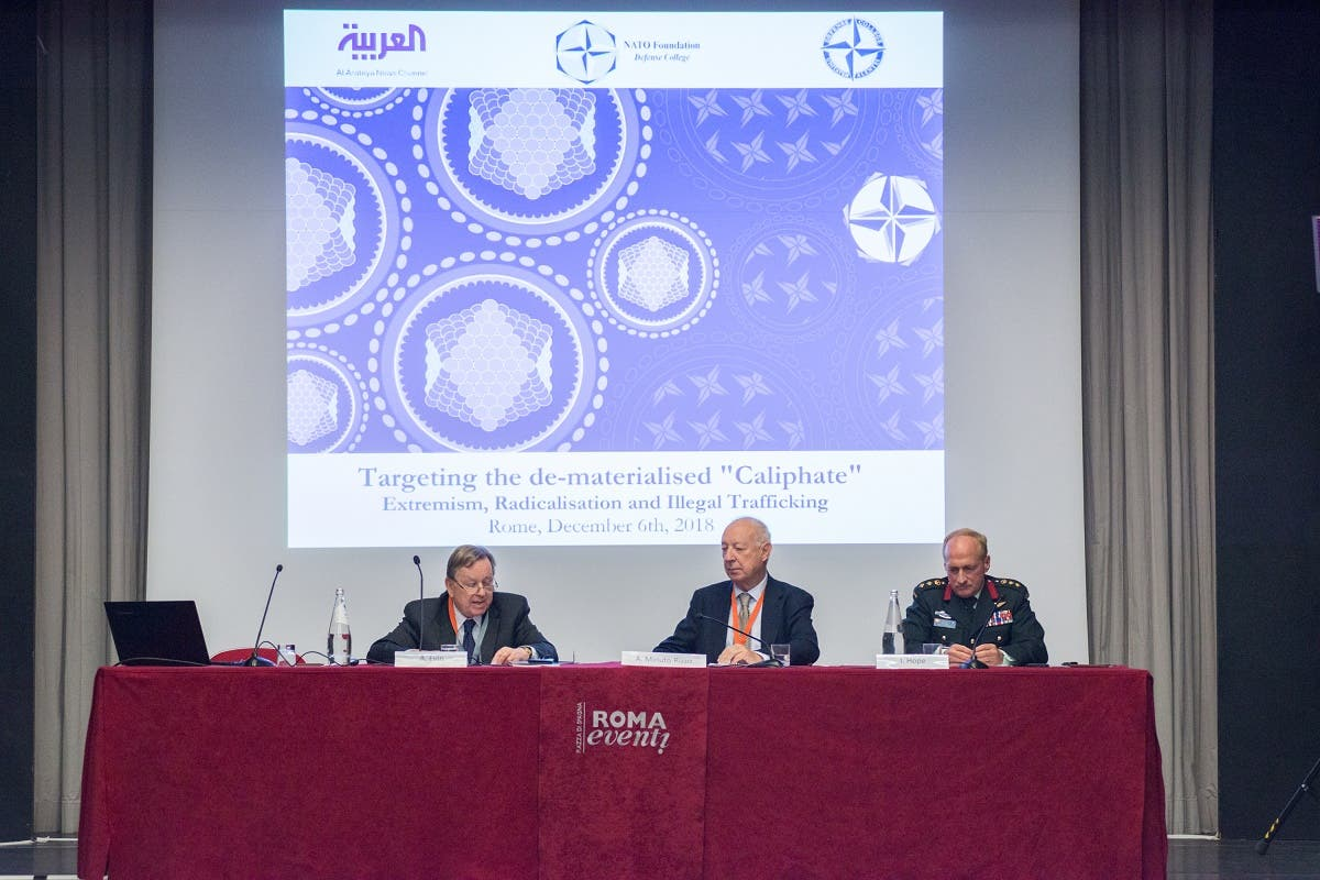 "ATO Defense College Foundation conference titled ""Targeting the de-materialized Caliphate - Extremism, Radicalization and Illegal Trafficking"" held in Rome"