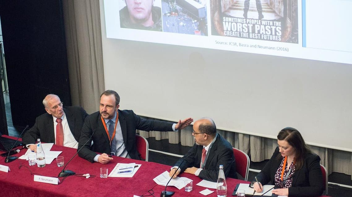 """ATO Defense College Foundation conference titled """"Targeting the de-materialized Caliphate - Extremism, Radicalization and Illegal Trafficking"""" held in Rome. (Supplied)"""