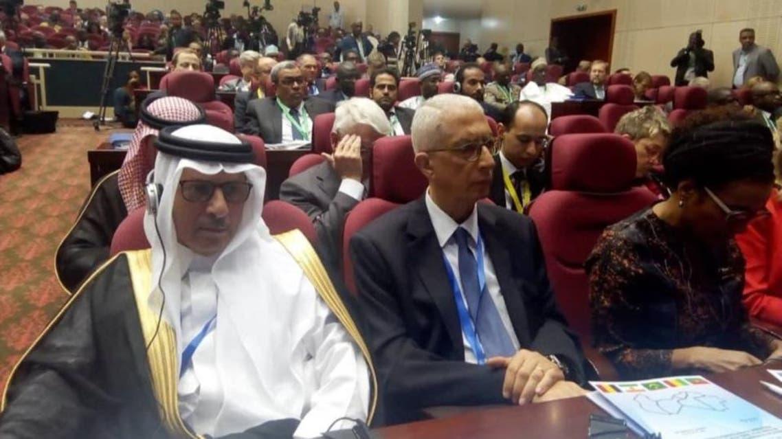 Saudi minister Kattan africa sahel states conference (Supplied)
