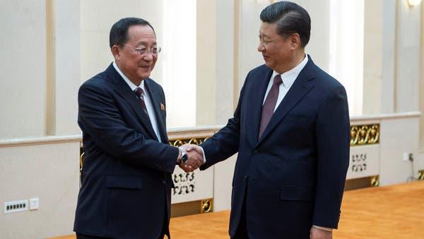 الرئيس الصيني يستقبل وزير خارجية كوريا الشمالية في بكين