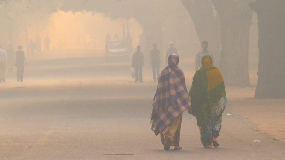 تلوث الهواء الهند نيودلهي