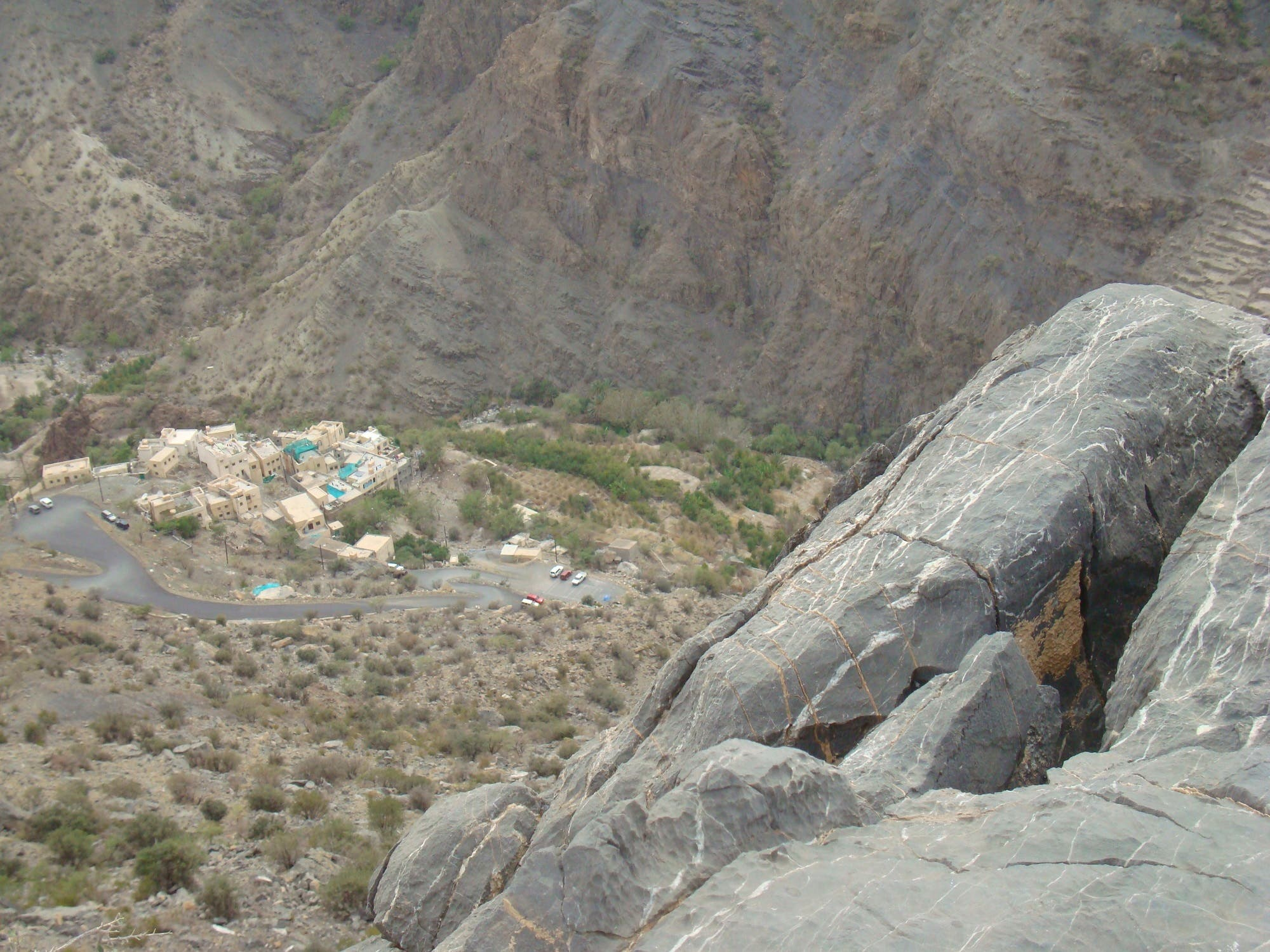 Key attractions in Jabal al-Akhdar are the alluring sights of water cascading down the rocky mountains. (Supplied)
