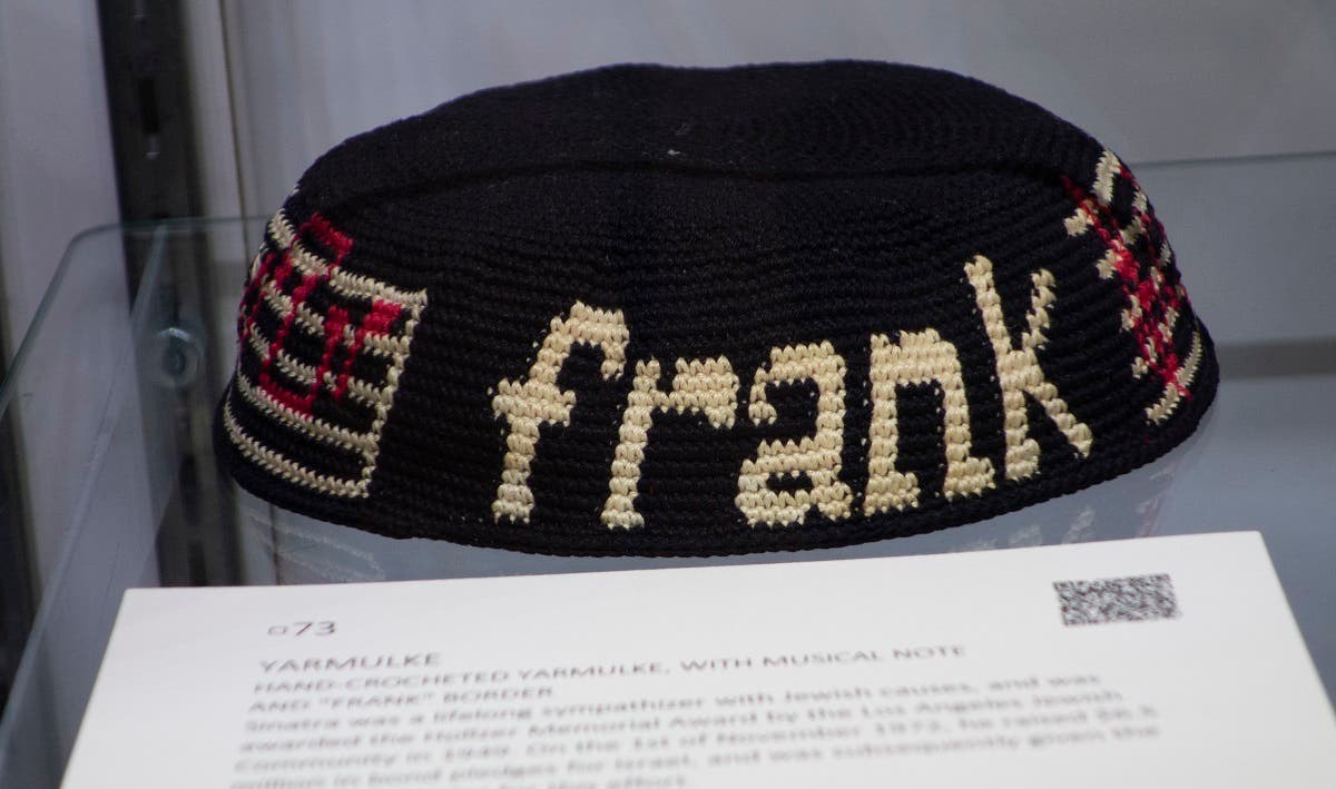 Frank Sinatra auction. (AFP)