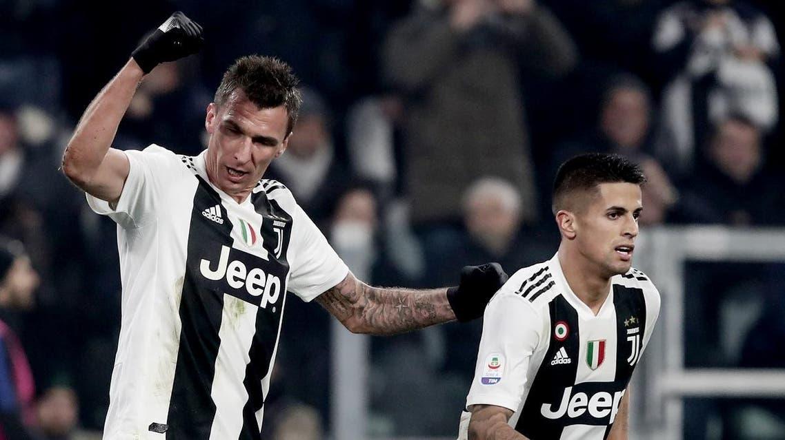 Mario Mandzukic Juventus. (AFP)