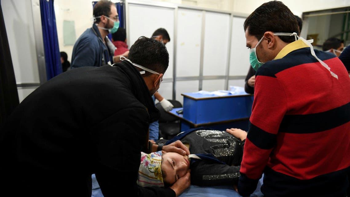 من هجوم حلب الأخير - بالأسلحة الكيمياوية