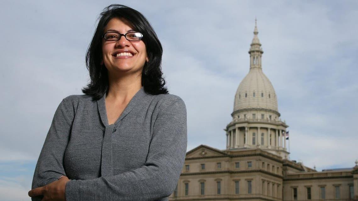 Rashida Tlaib US Congress (AFP)