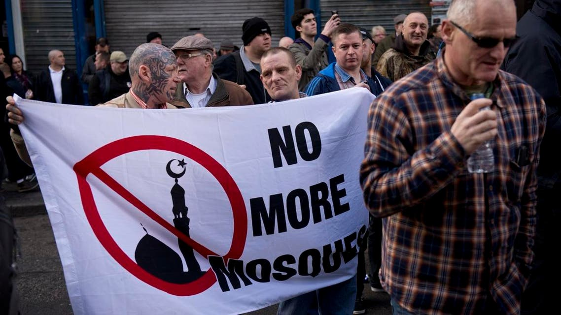 Discrimination against Muslims in the UK. (File photo: AFP)