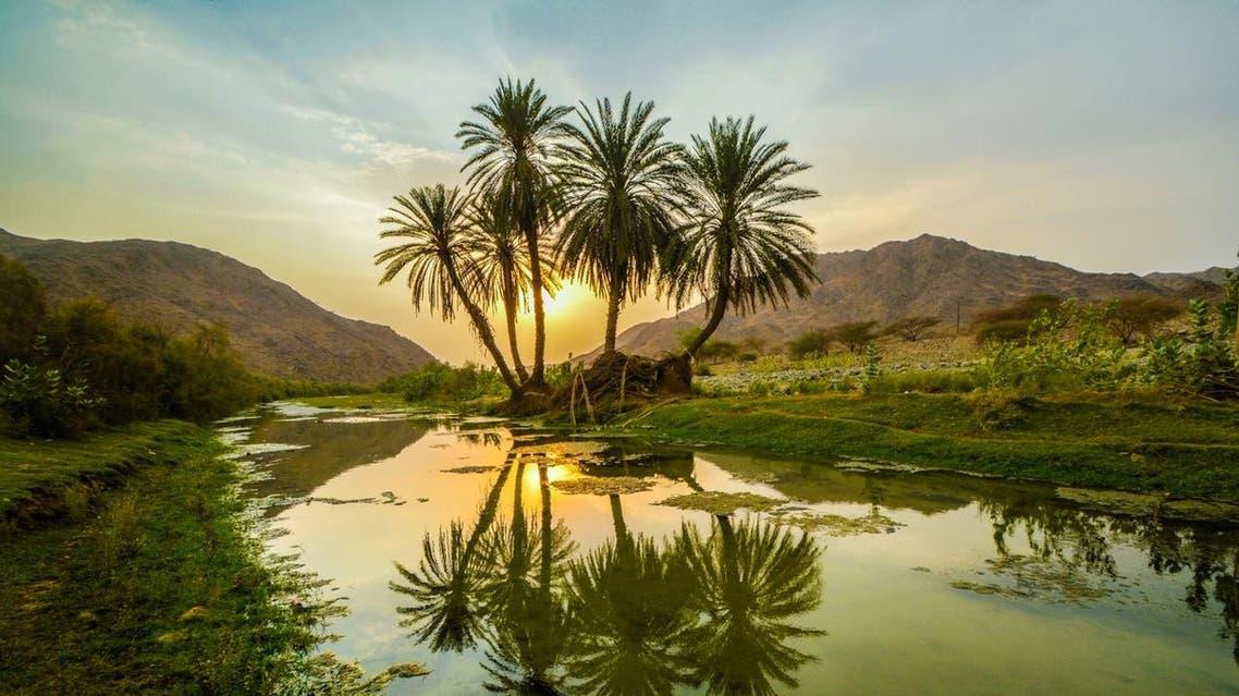 Qununa Valley Saudi Arabia. (Supplied)