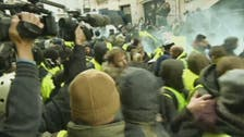 Al Arabiya reporters face tear gas, rubber bullets during 'Yellow Vests' riots