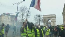 فرانس میں ملک گیر احتجاج، 10 مظاہرین زخمی، صدر سے استعفے کا مطالبہ