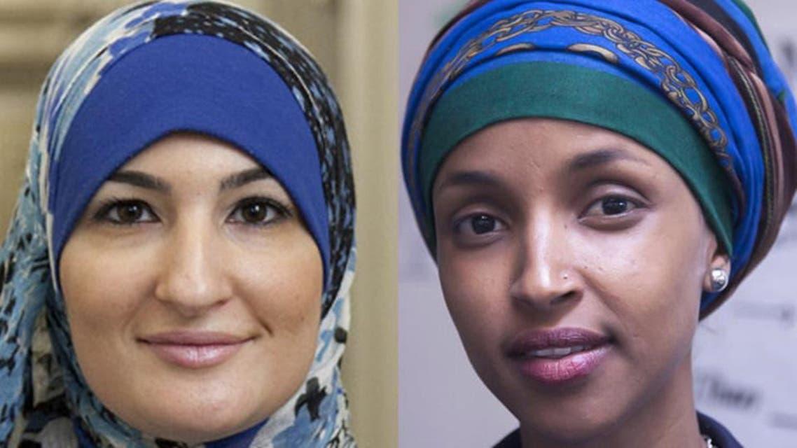الہان عمر اور لیندا صرصور