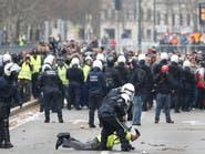 """""""السترات الصفراء"""" تمتد لبروكسل.. وتوقيف 400 شخص"""