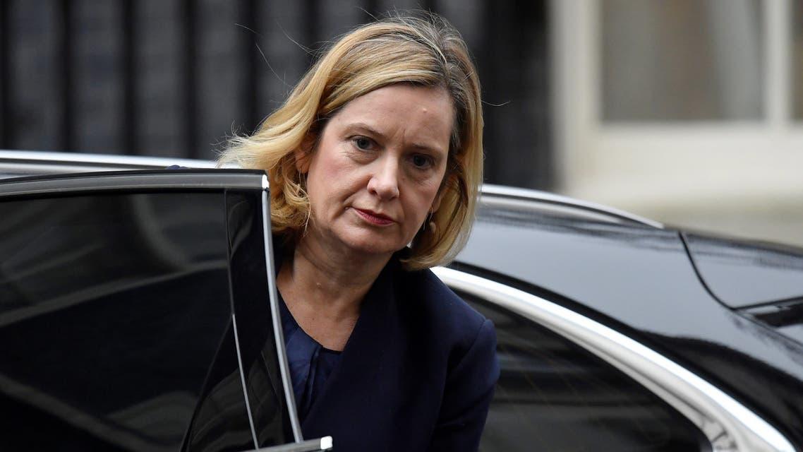وزيرة العمل والمعاشات البريطانية أمبر راد