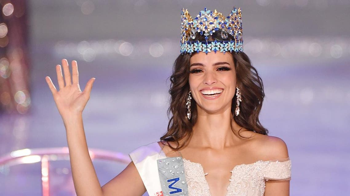 Miss World 2018 Mexican Vanessa Ponce de Leon (AFP)