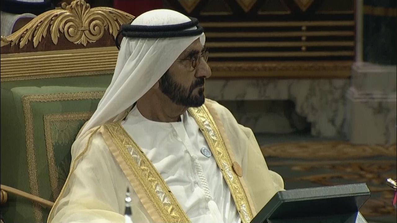 سیخ محمد بن راشد آل مکتوم رئیس شورای وزیران امارات متحده عربی