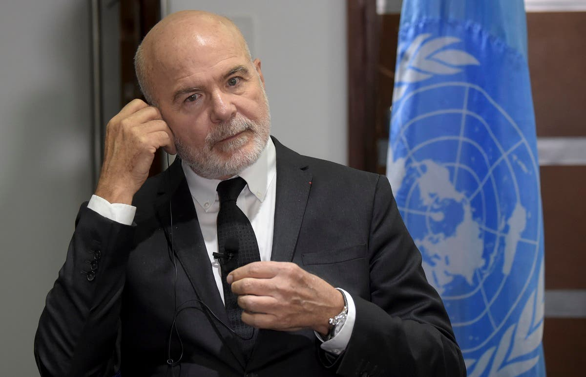 UN's Special rapporteur on the situation of human rights defenders, French Michel Forst (AFP)