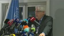 مارٹن گریفتھس یمن مذاکرات کے آیندہ دور میں تفصیلی امن منصوبہ پیش کریں گے