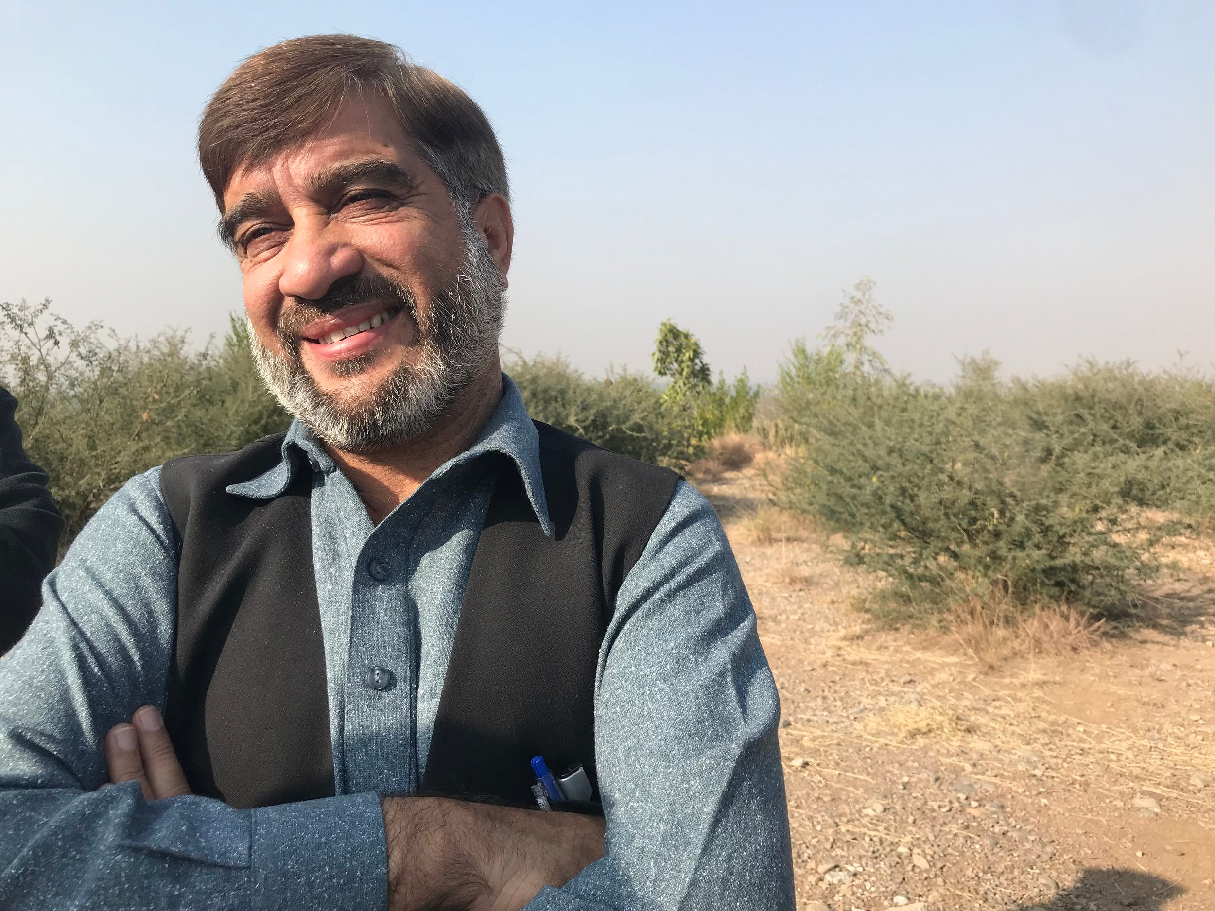 Muhammad Tehmasip, Projector Billion Tree Afforestation Project at Garhi Chandan near Peshawar. (Supplied)