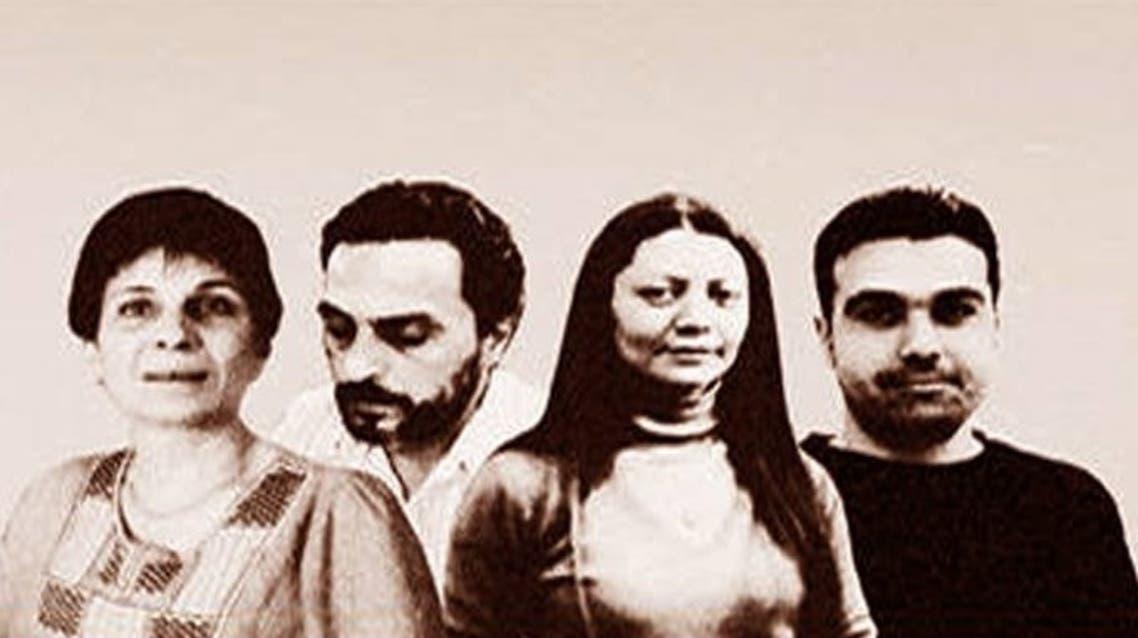 المعارضون السوريون الأربعة المتهم فصيل جيش الاسلام باختطافهم